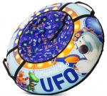 Санки-ватрушка Cosmic Zoo UFO