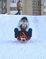 Снегокат KHW Snow Tiger de Luxe