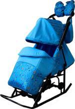 Санки-коляска  Kristy Comfort Plus 3В
